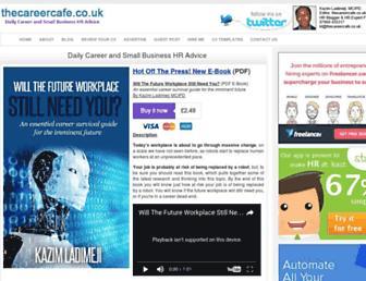 thecareercafe.co.uk screenshot