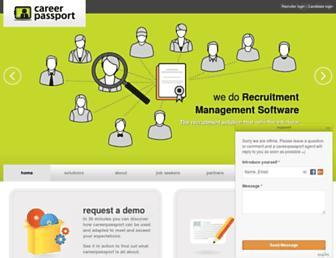 Thumbshot of Careerpassport.eu