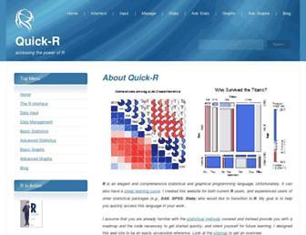 Thumbshot of Statmethods.net