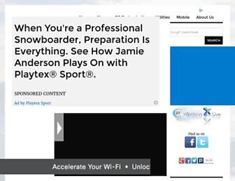 windowsxlive.net screenshot
