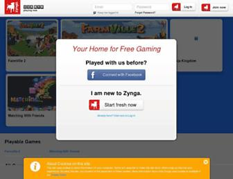 Thumbshot of Zyngagames.com