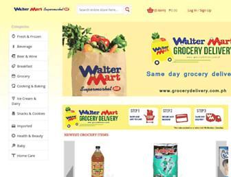 grocerydelivery.com.ph screenshot