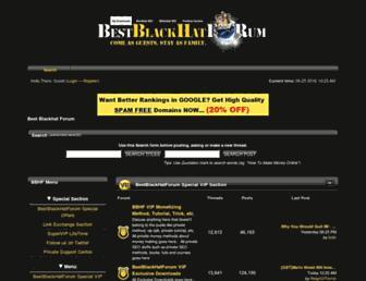 Thumbshot of Bestblackhatforum.com