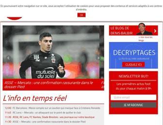 butfootballclub.fr screenshot