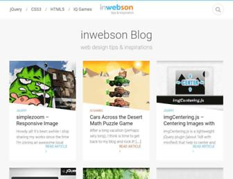 inwebson.com screenshot