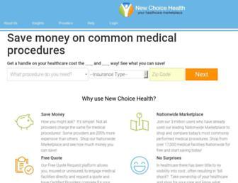 newchoicehealth.com screenshot