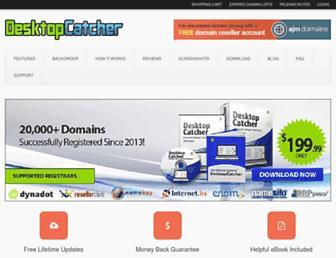 Thumbshot of Desktopcatcher.com