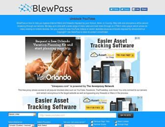 Thumbshot of Blewpass.com