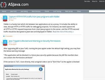 asjava.com screenshot