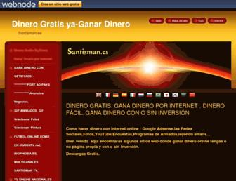 santisman.es screenshot