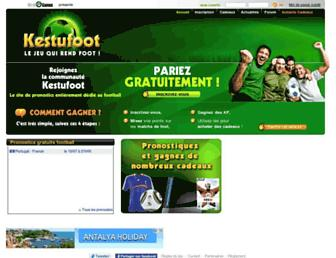 Thumbshot of Kestufoot.com