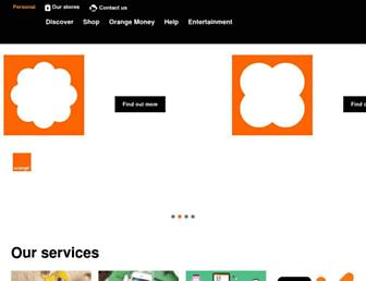 orange.co.bw screenshot