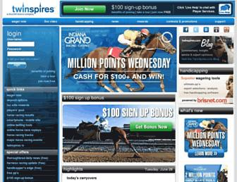 twinspires.com screenshot