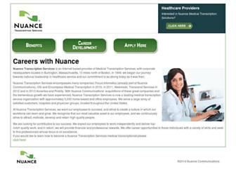Thumbshot of Nuance-nts.com