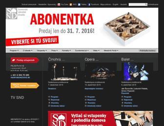 snd.sk screenshot