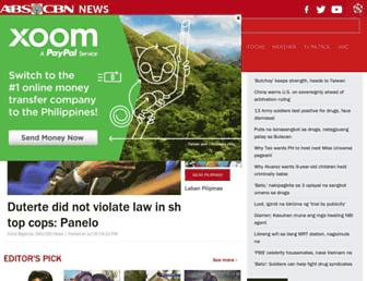 news.abs-cbn.com screenshot