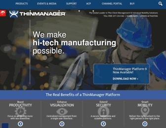 thinmanager.com screenshot