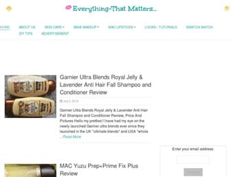 Thumbshot of Everything-thatmatters.com