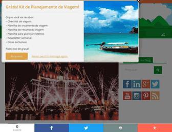vidadeturista.com screenshot