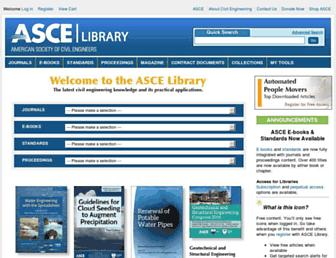 ascelibrary.org screenshot