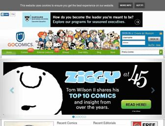 Thumbshot of Gocomics.com