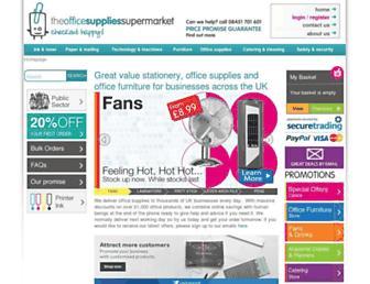 Thumbshot of Theofficesuppliessupermarket.com