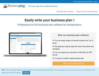 thebusinessplanshop.com screenshot