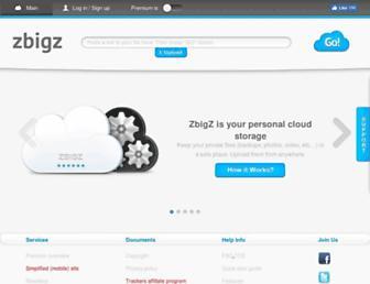 Thumbshot of Zbigz.com