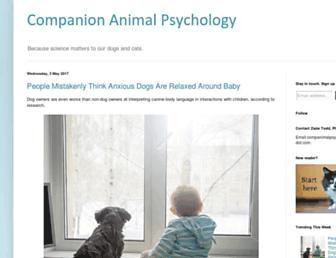 companionanimalpsychology.com screenshot