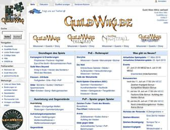 Thumbshot of Guildwiki.de