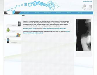 senstic.com screenshot