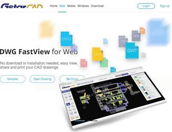 en.dwgfastview.com screenshot