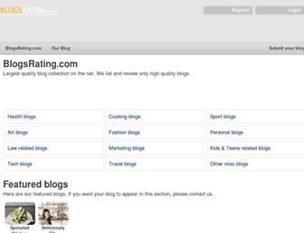 Thumbshot of Blogsrating.com