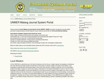jurnal.unmer.ac.id screenshot