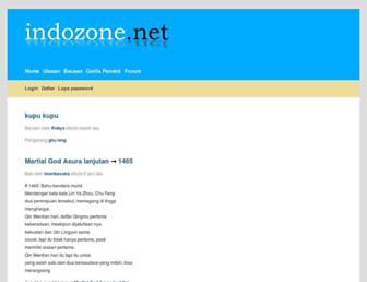 indozone.net screenshot