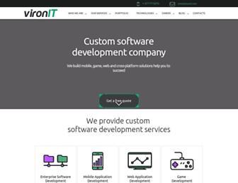 vironit.com screenshot