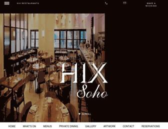 Thumbshot of Hixsoho.co.uk