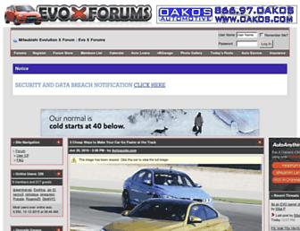 Thumbshot of Evoxforums.com