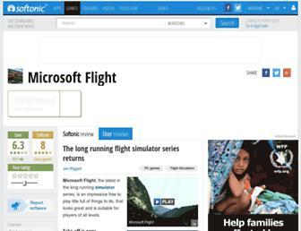 microsoft-flight.en.softonic.com screenshot