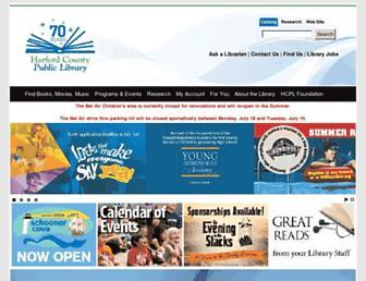 hcplonline.org screenshot
