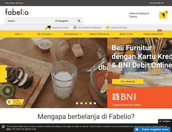 fabelio.com screenshot