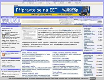 studna.cz screenshot