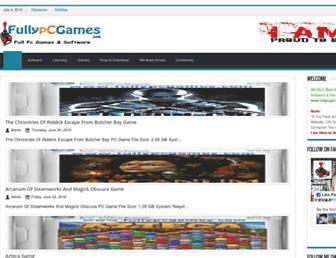 fullypcgames.com screenshot
