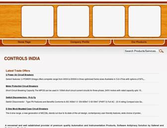 controlsindia.tradeindia.com screenshot