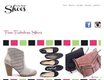 lovethoseshoes.ca screenshot