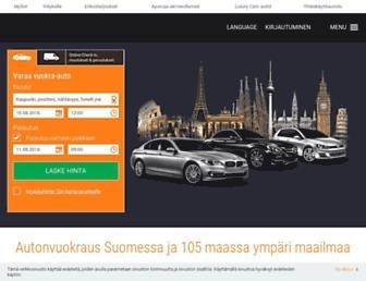 fi.sixt.com screenshot