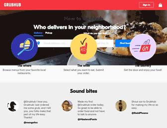 Thumbshot of Grubhub.com