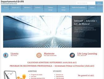 Main page screenshot of credis.ro