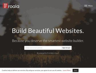 froala.com screenshot