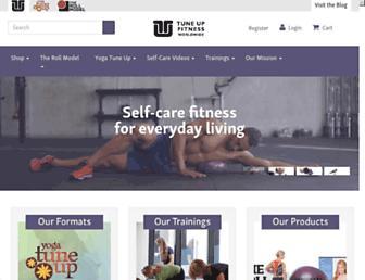 tuneupfitness.com screenshot